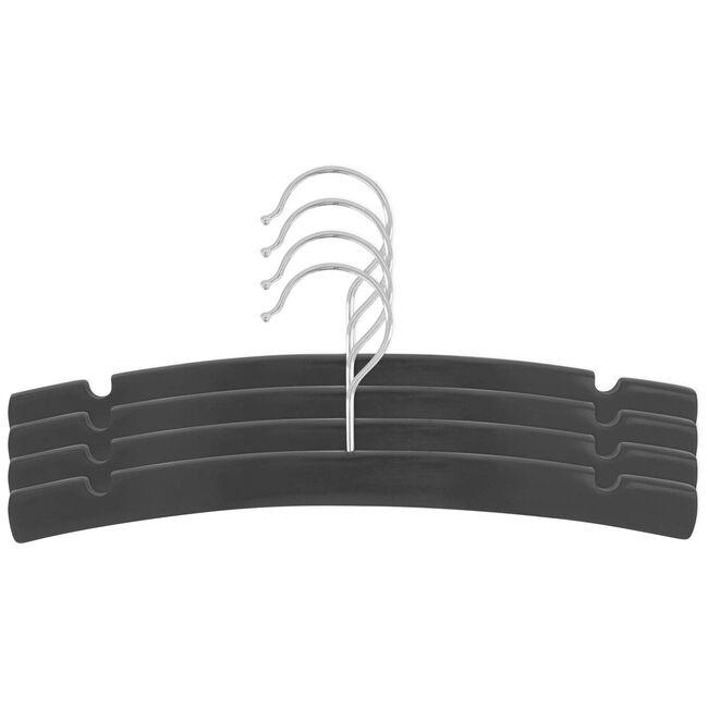 Prénatal kledinghanger hout 4 stuks - Graphite Grey