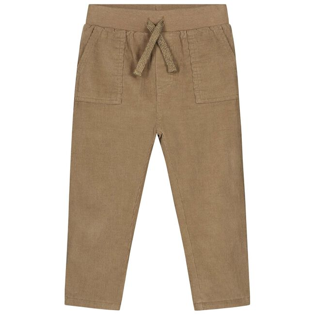 Prénatal peuter jongens broek - Light Taupe Brown