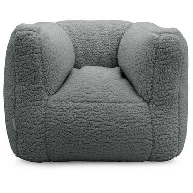 Jollein fauteuil beanbag teddy - Grey