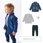 shop the look - t-shirt, blouse en broek -