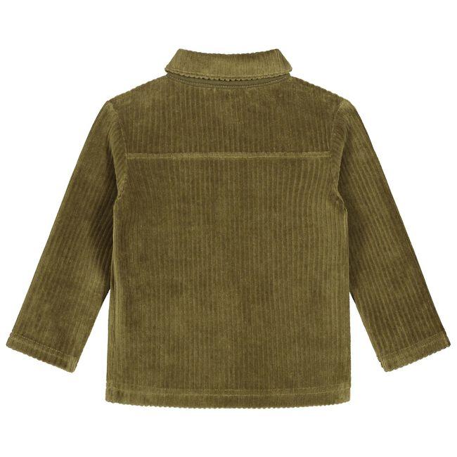 Sweet Petit baby jongens blouse Morris - Dark Olive Green