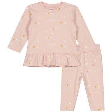 Prénatal baby pyjama hartjes -