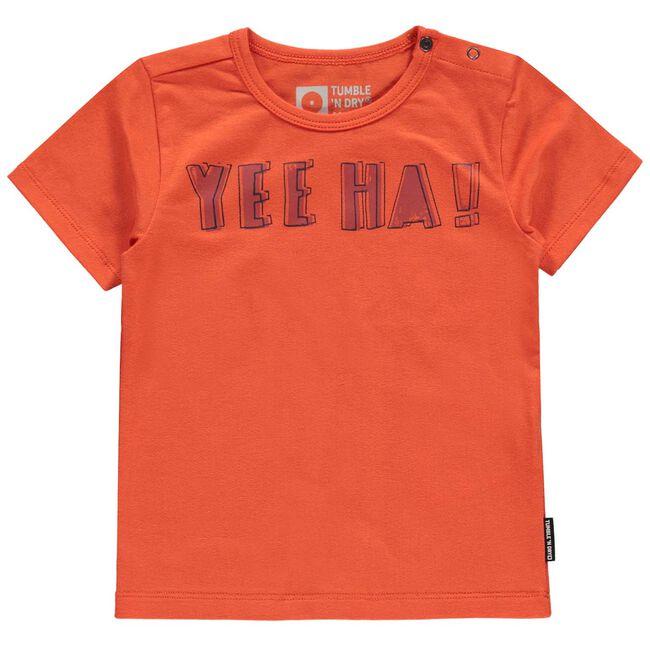Tumble 'N Dry jongens t-shirt - Orange