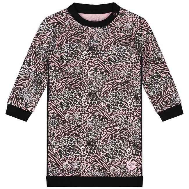 Prénatal baby meisjes jurk - Mid Pink
