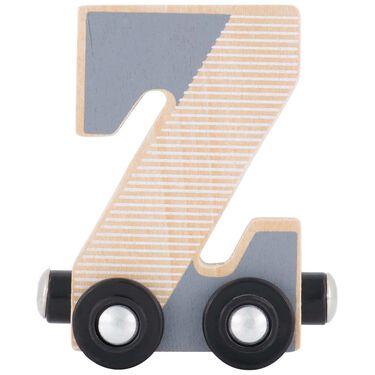 Prénatal houten namentrein letter Z -