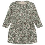 Prénatal baby meisjes jurk - Soft Brown Melange