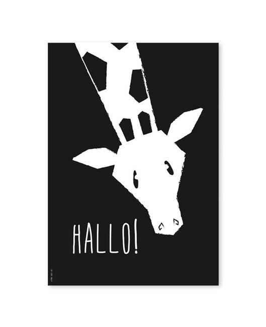 Studio Circus A4 poster giraffe - Geen Kleurcode
