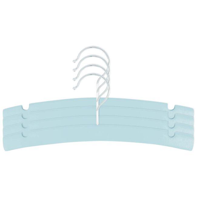 Prénatal kledinghanger hout 4 stuks - Soft Green