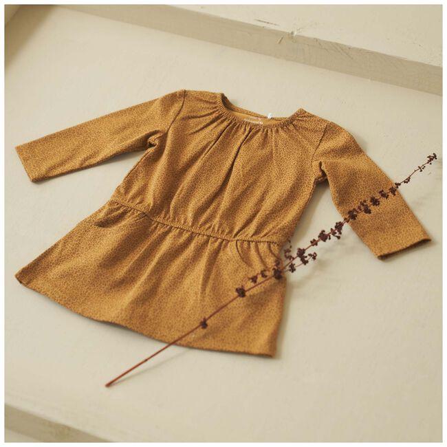 Prénatal baby meisjes jurk - Dark Sienna