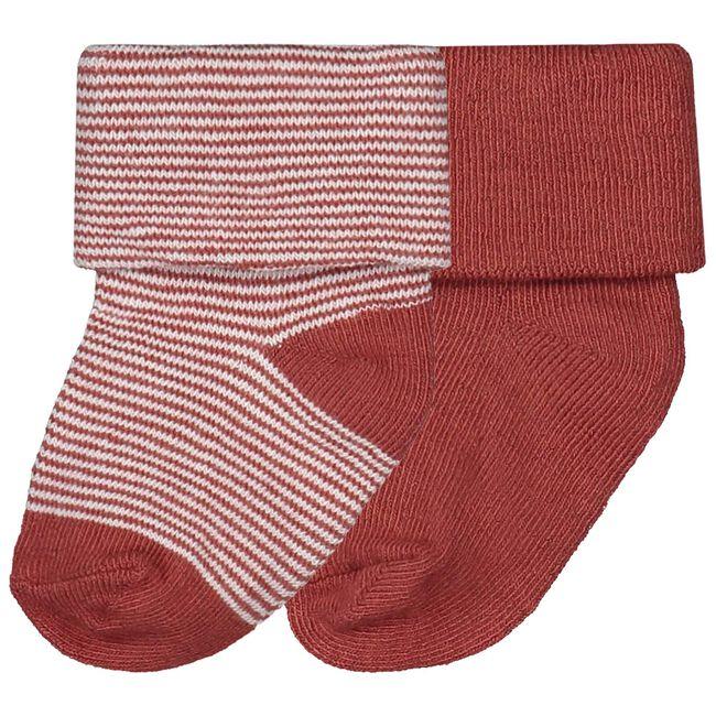 Prenatal newborn unisex sokjes - Winered