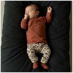 Prenatal newborn unisex broek rib -