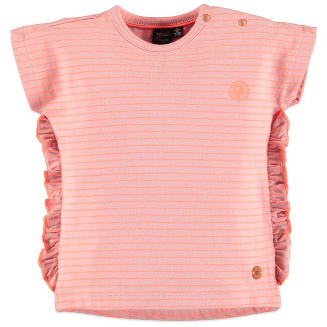 Babyface peuter meisjes T-shirt - Mid Pink