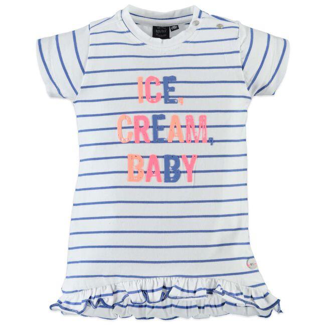 Babyface peuter meisjes jurk - Medium Blue