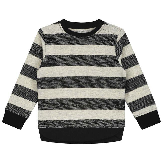 Prénatal peuter jongens sweater - Mid Brown Melange