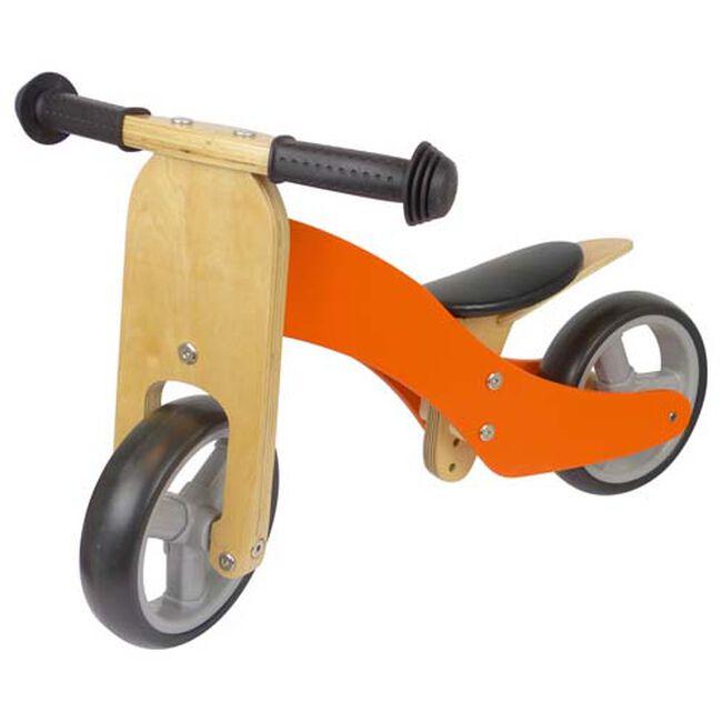Houten loopfiets 2-in-1 - Orange