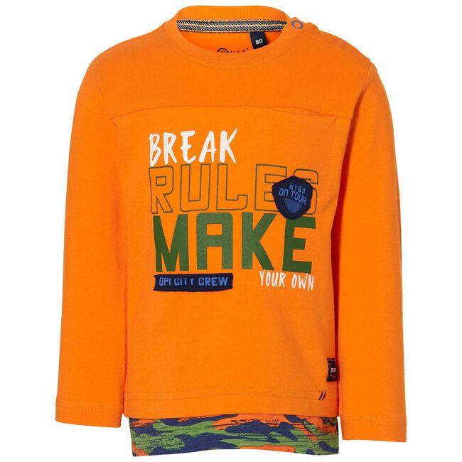 Quapi peuter jongens t-shirt - Orange