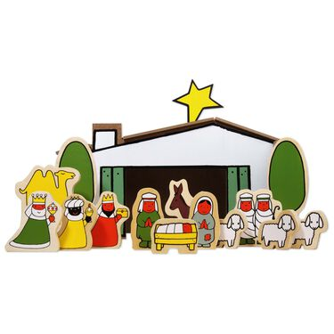 Nijntje kerststal -
