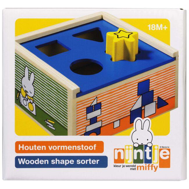 Nijntje houten vormenstoof -