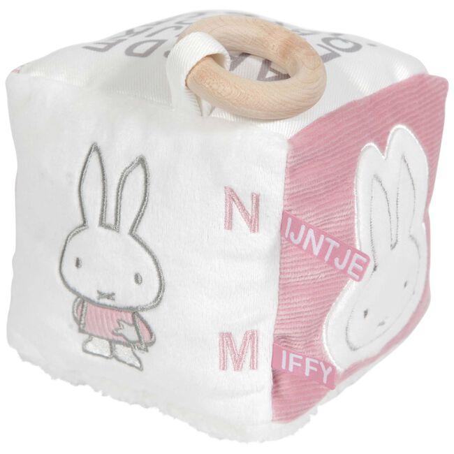 Nijntje kubus rib roze - Geen Kleurcode