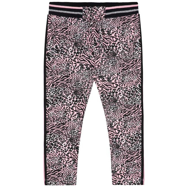 Prénatal peuter meisjes broek - Mid Pink