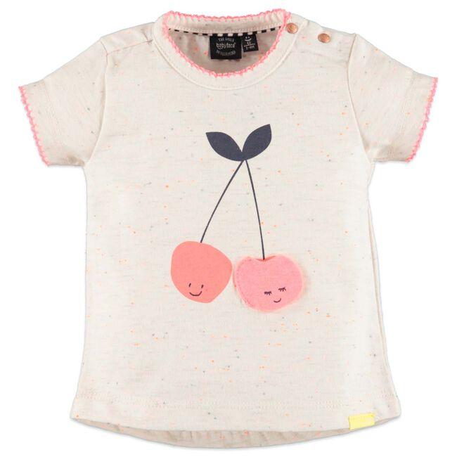 Babyface baby meisjes T-shirt - Ecru