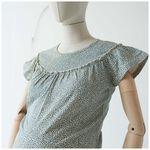 Prénatal zwangerschaps T-shirt - Light Brown Melange