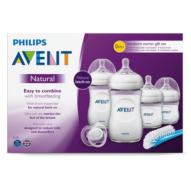 Philips Avent Natural new born Starterset 0+ maanden - SCD301/01 -