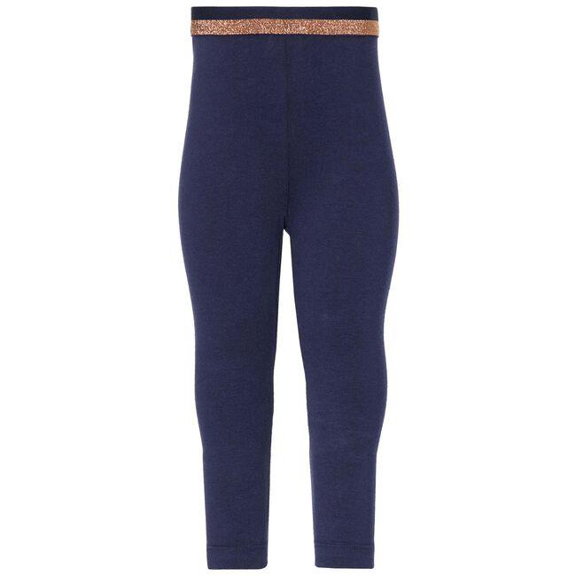 Quapi peuter meisjes legging - Dark Blue