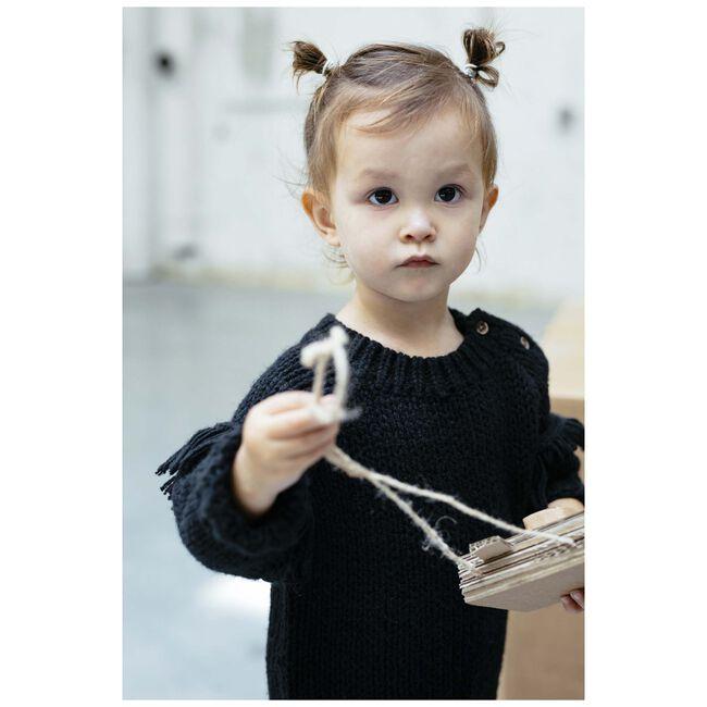Sweet Petit peuter meisjes trui Rita - Black