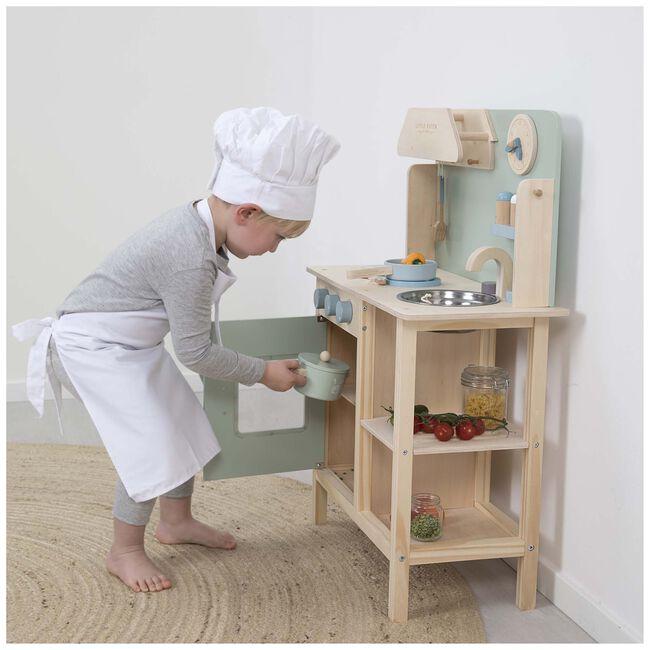 Little Dutch houten speelgoedkeuken mint -