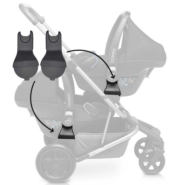 Easywalker Harvey adapters voor autostoel -