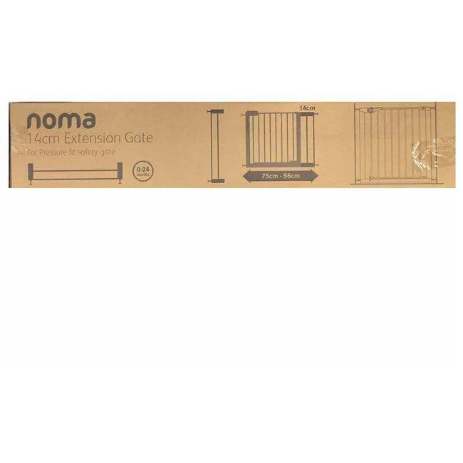 Noma traphek verlengstuk wit 14cm - White