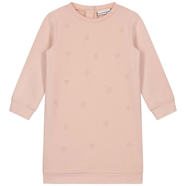 Prénatal baby meisjes jurk - Light Sugar Pink