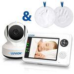 Luvion Essential babyfoon + gratis gipsafdrukset - White