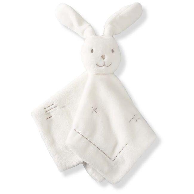 Prénatal knuffeldoekje konijn - White