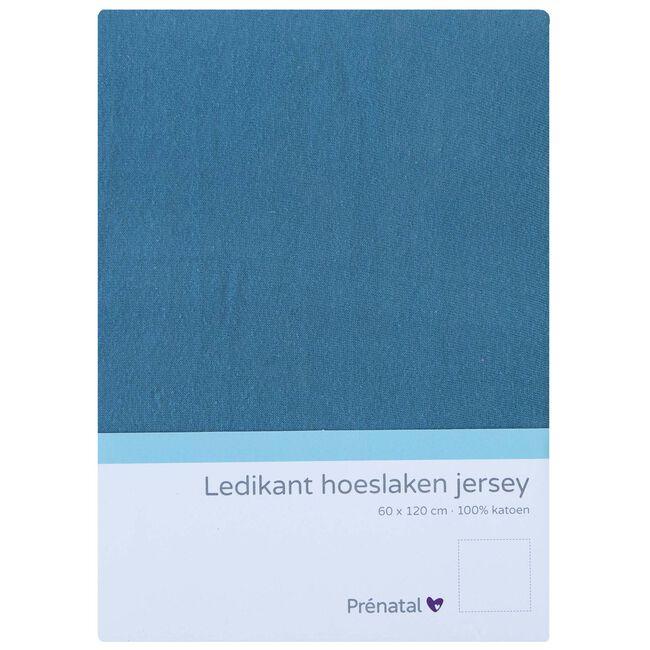 Prénatal ledikant hoeslaken jersey - Deep Sky Blue