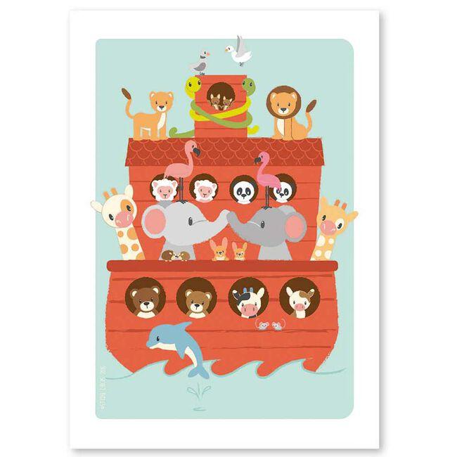 Studio Circus kaartje Arc van Noach - Red