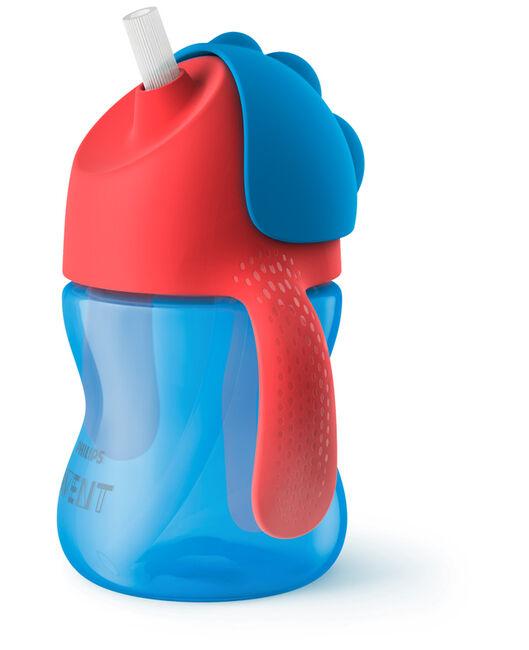 Philips Avent rietjesbeker 200ml 9+ maanden blauw - Blue