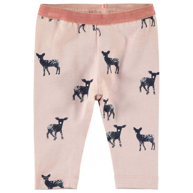 Name it baby meisjes legging - Mid Pink