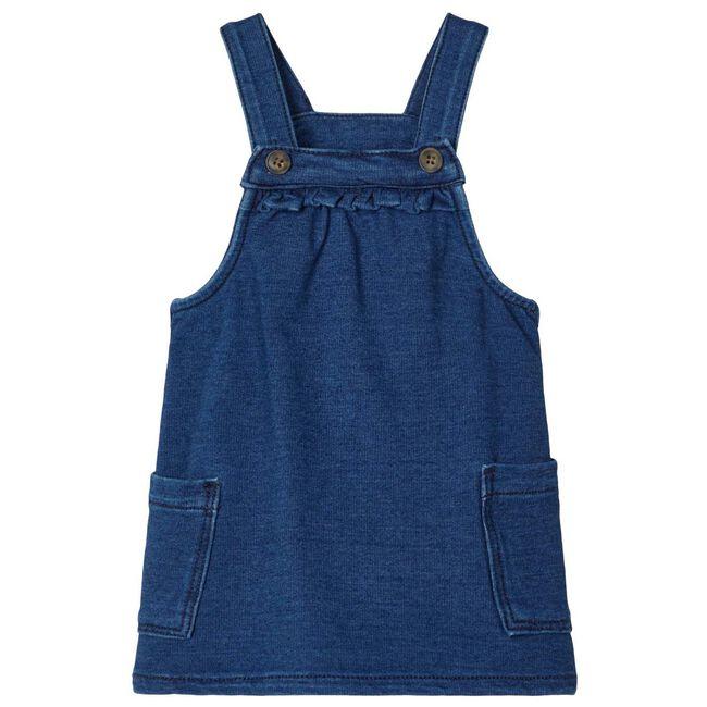 Name it meisjes jurk - Dark Blue Denim