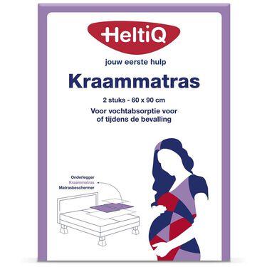 HeltiQ Kraammatras 2 stuks -