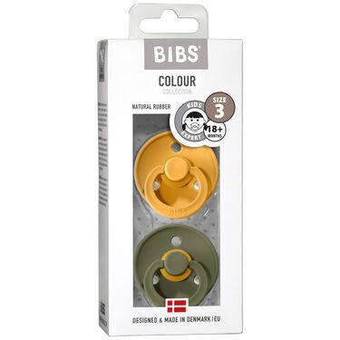 Bibs fopspeentje Size 3 - Honey Bee / Olive