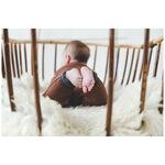 Prénatal newborn jongens 1-delig pakje - Midbrown