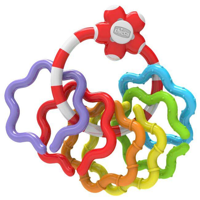Chicco gekleurde speel- en bijtringen - Multi