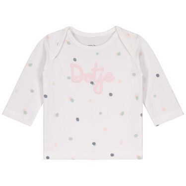 Prénatal newborn overslagshirt -