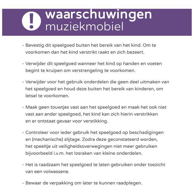 Prénatal muziekmobiel Lama - Multi