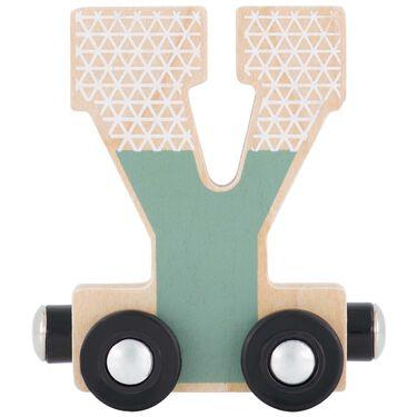 Prénatal houten namentrein letter Y -