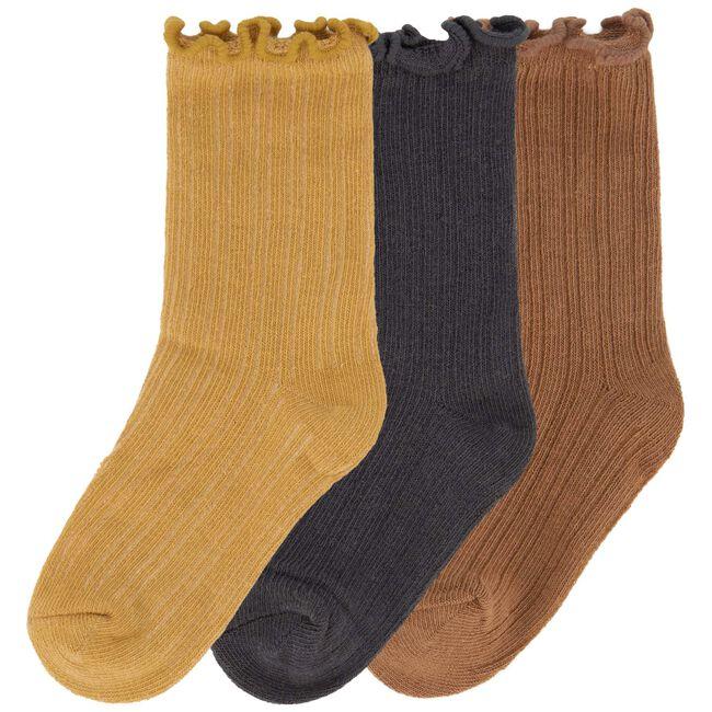 Prénatal meisjes sokken 3 stuks - Yellow Shade