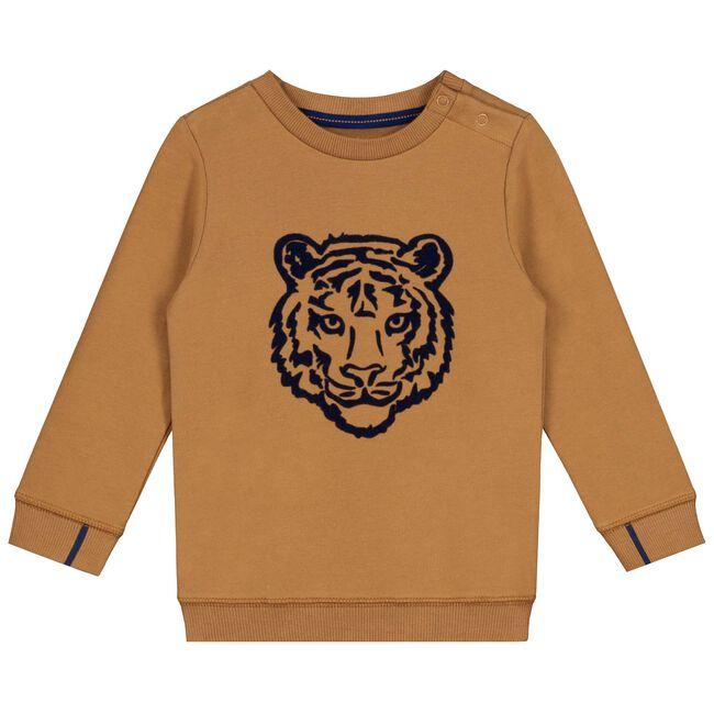 Prénatal baby jongens sweater - Midbrown
