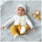 Prenatal newborn unisex broek - Darkyellow